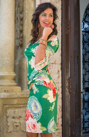 Vestido Kahyra estampado Ahora disponible en www.talentijeans.com
