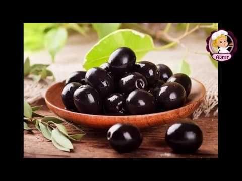 طريقة تخزين الزيتون الأسود كتير روعة Youtube Food Fruit Olive