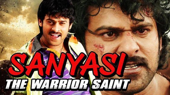 hindi dubbed movies of prabhas - Sanyasi the Warrior saint poster