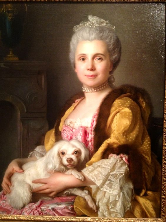 Madame Freret Dericour, 1769 by Joseph-Siffred Duplessis