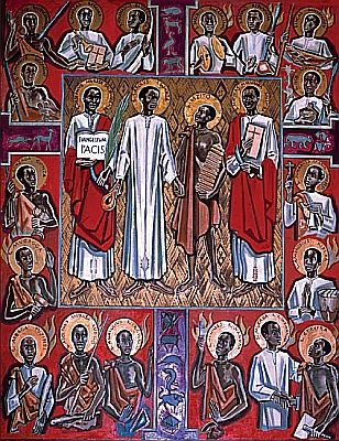 Saint Charles Lwanga and martyrs of Uganda pray for us and African Catholic Youth Action and converts.  Feast day June 3.