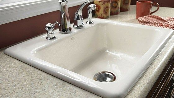 Kitchen Sink Materials Pros And Cons With Images Cast Iron