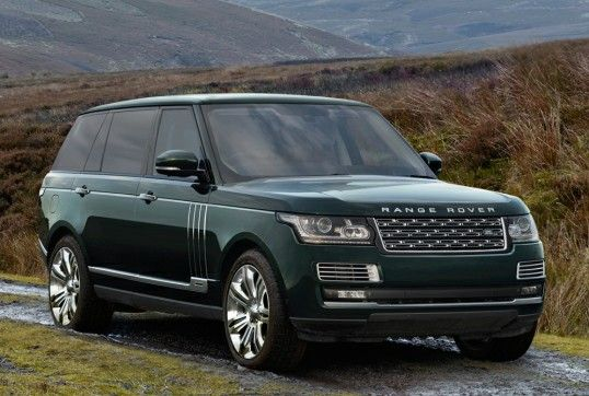 Range Rover Holland Holland Limited Edition 2014 2016 The New Special Vehicle Operations Division Range Rover Range Rover Supercharged British Car Brands