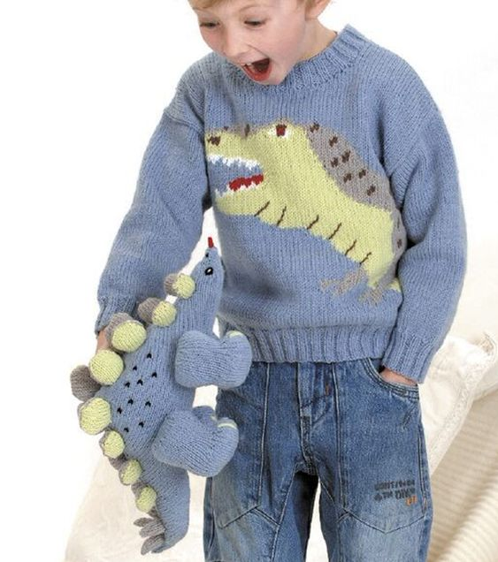Knitting Pattern For Dinosaur Sweater : 2015 trends, Trends and For kids on Pinterest