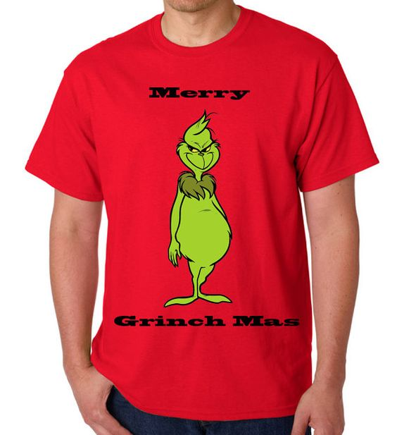 ADULT Grinch Shirt  Christmas Grinch Shirt by InspirationxCreation, $20.00