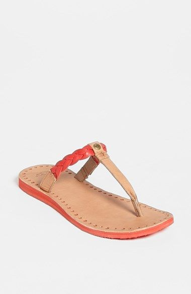 UGG® Australia 'Bria' Flip Flop (Women) available at #Nordstrom  Black and tomato soup(pictured color). ️SB.