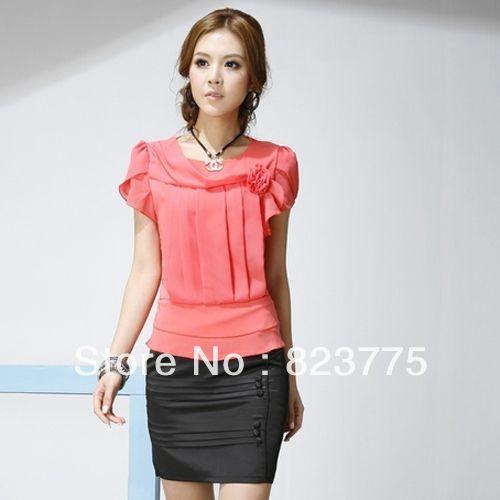 Hot Sale 2013 Work Wear Set Women's Formal Suit T-shirt Skirt
