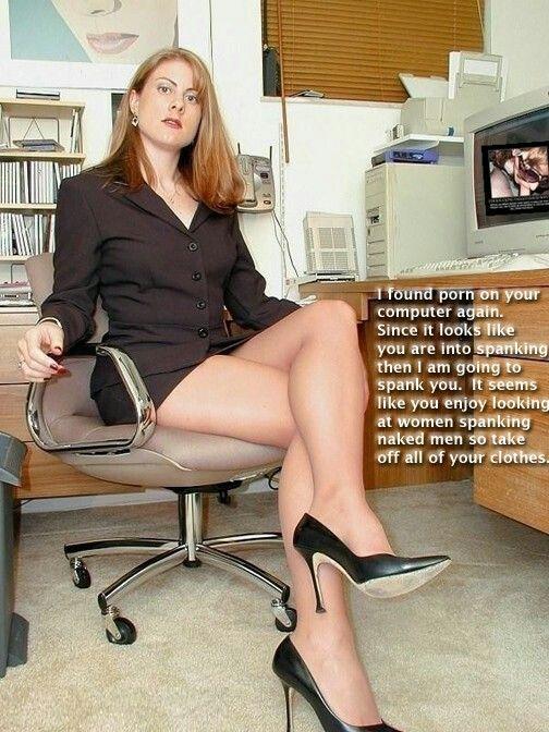 hot spanking captions - Milf and virgin boy sex videos
