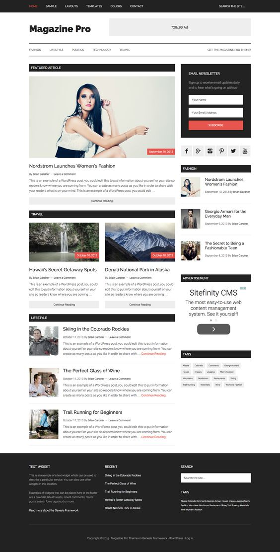 Magazine Pro by StudioPress