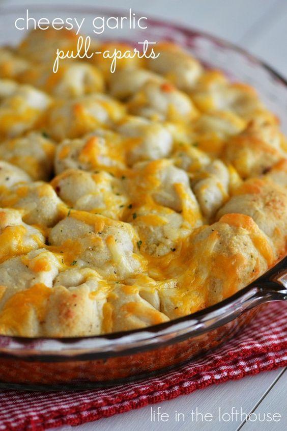 Cheesy garlic biscuits pinterest crafts