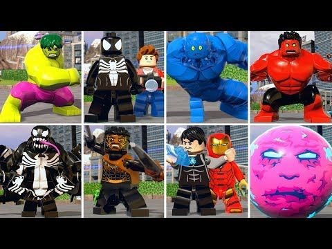 All Character Transformations In Lego Marvel Super Heroes 2 Youtube Lego Marvel Super Heroes Lego Marvel Marvel Superheroes