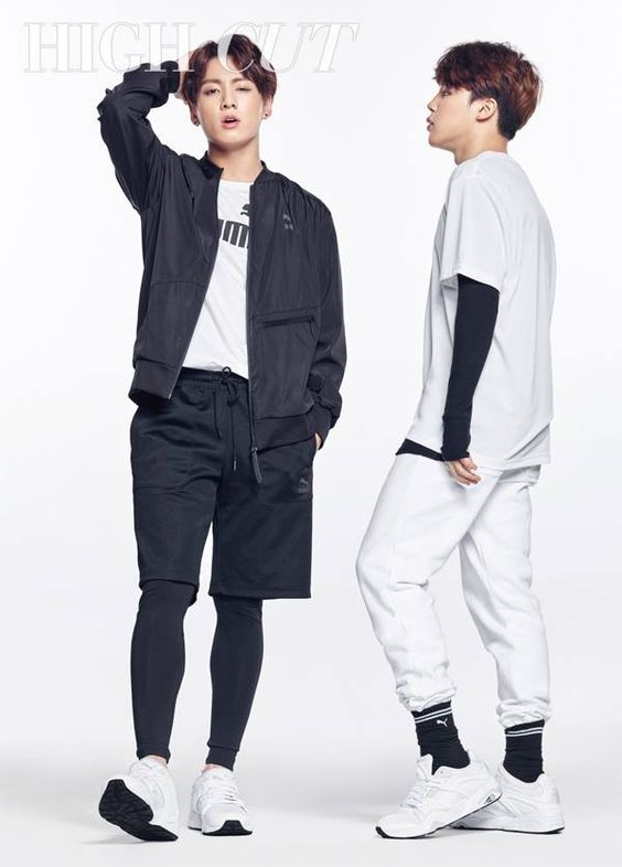 Jungkook x Jimin BTS for High Cut
