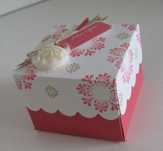 Madison Avenue beautiful gift box stampin with beemybear: März 2013