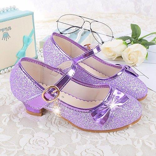 Season Flower Girl Shoes Flats Bowknot