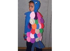 Pinterest the world s catalog of ideas for Rainbow fish costume