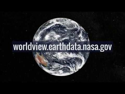 Through An Easy To Use Map Interface Nasa S Worldview App Lets You Explore Earth As It Looks Right Now Or As It Looked Almost 20 Year Global Map Nasa Remote Sensing