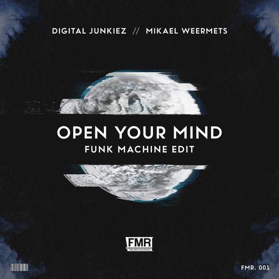 Mikael Weermets & Digital Junkiez – Open Your Mind (single cover art)