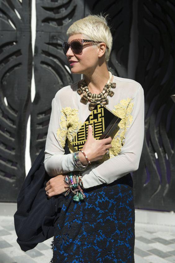 Elisa Nalin - stunning LFW