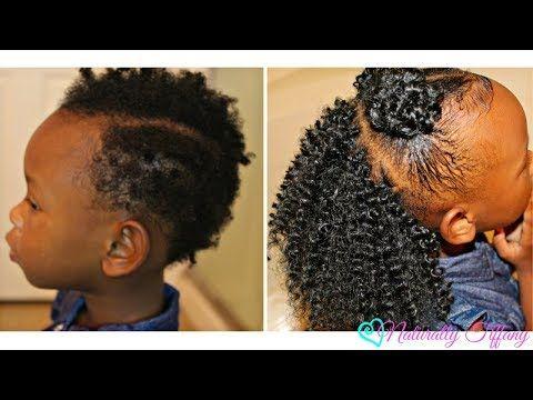 Crochet Braids W Double Buns Very Short Fine Natural Hair