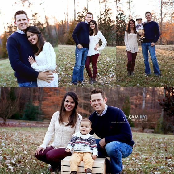 Fam(ily) Photography by Leslie, simple fall family poses