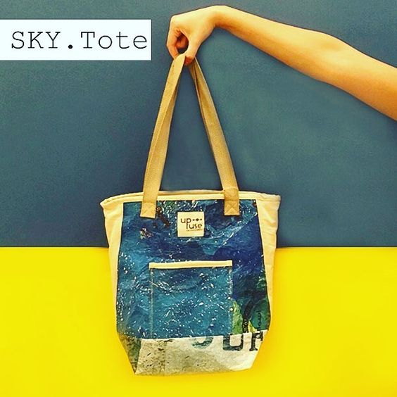 New Totes !! Don't miss out new totes.  #blue #babkyblue #twintotebag #yellow #sky #consciousexpression #sustainability #4change #local #madeinegypt Re-post by Hold With Hope