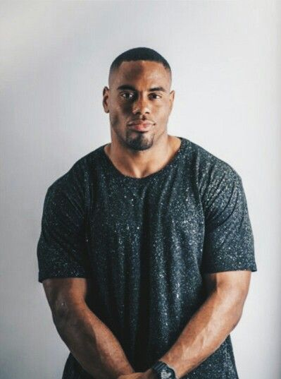 Rashad Jennings of the NY Giants flexin' the most in his #Threadworkshop tee.