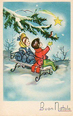 Cartoline Di Natale Anni 30.Cartoline D Epoca Natalizie Vitoronzo Pastore Cartoline