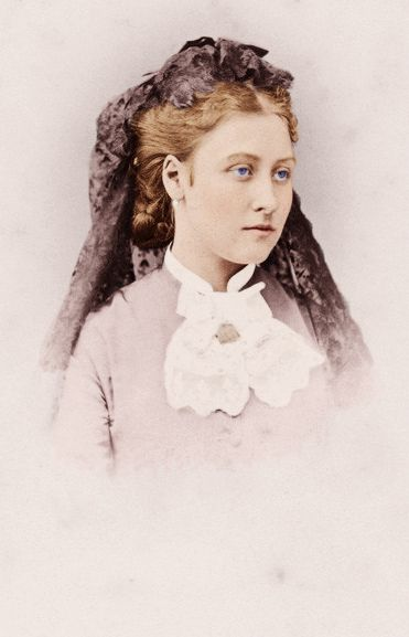 Princess Louise, the mercurial beauty of the family.