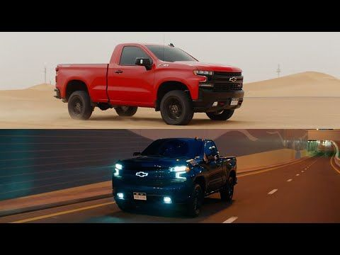 The 2019 Chevrolet Silverado Rst Regular Cab And Trail Boss Regular Cab Which Are Exclusive To The Middle East Have Made New Silverado Regular Cab Silverado