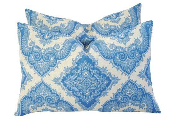 French Manuel  Canovas Linen  Pillows