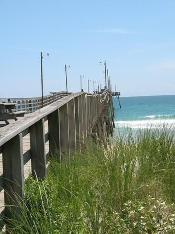 Baby girls puppys and beaches on pinterest for Topsail fishing pier