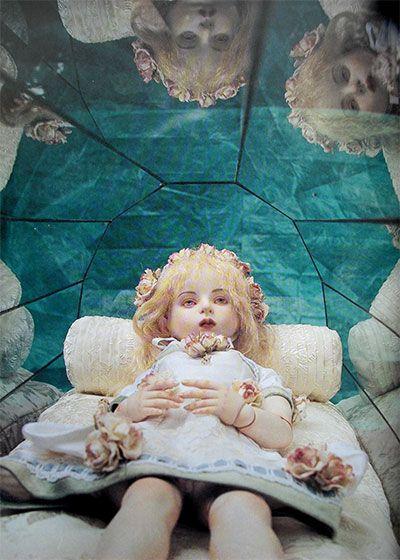 Doll : Ariel sculpt (1998). Doll artist / Koitsukihime. Photograph / Sakichi Kataoka.