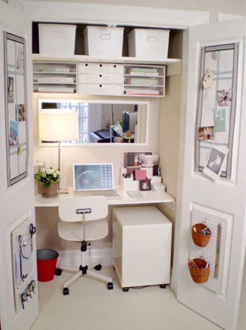 Diy Home Sweet Home Hidden Office Storage And Organization In