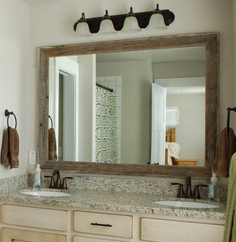 Trosper Rustic Bathroom Vanity Mirror Rustic Bathroom Vanities