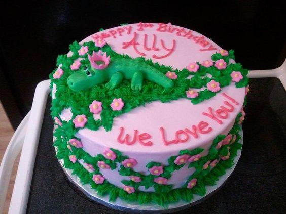 Ally-Gator - Cake by Kim Dickerson