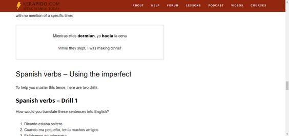 Fully Conjugated Spanish Verbs - BIG Spanish Verb list - Spanish - verb list
