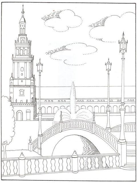 Pinta Andalucia Y Sus Monumentos Ispaniya Arhitektura