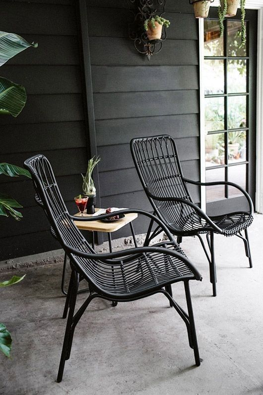 Medan Graphite Lounge Chair Lounge Chairs In 2020 Wicker Patio