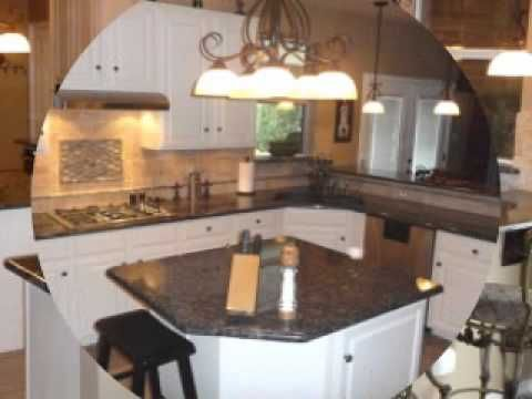 Sapphire Brown Granite Countertops Dallas TX by DFW Granite