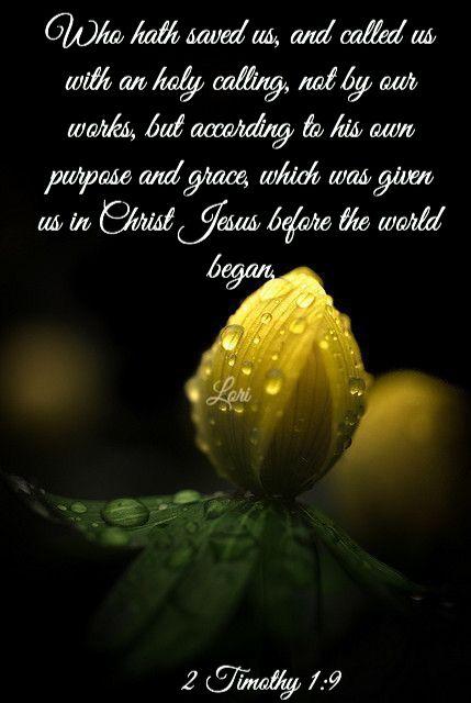 2 Timothy 1:9 King James KJV