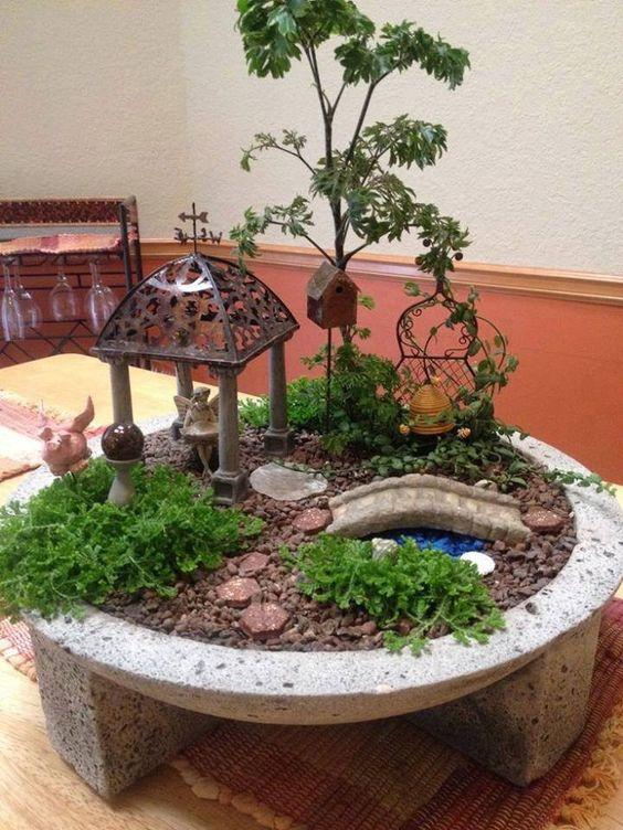 Comment composer facilement un jardin miniature | Miniature and Salons