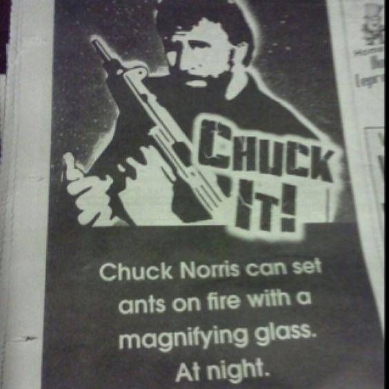 Chuck Norris!!