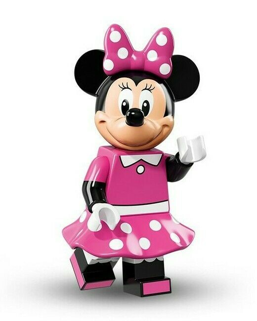 Factory Sealed Lego MINNIE MOUSE Disney Series Minifigure #11 71012 In Hand