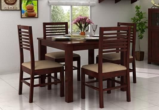 Pune Square Dining Tables 4 Seater Dining Table Dining Table