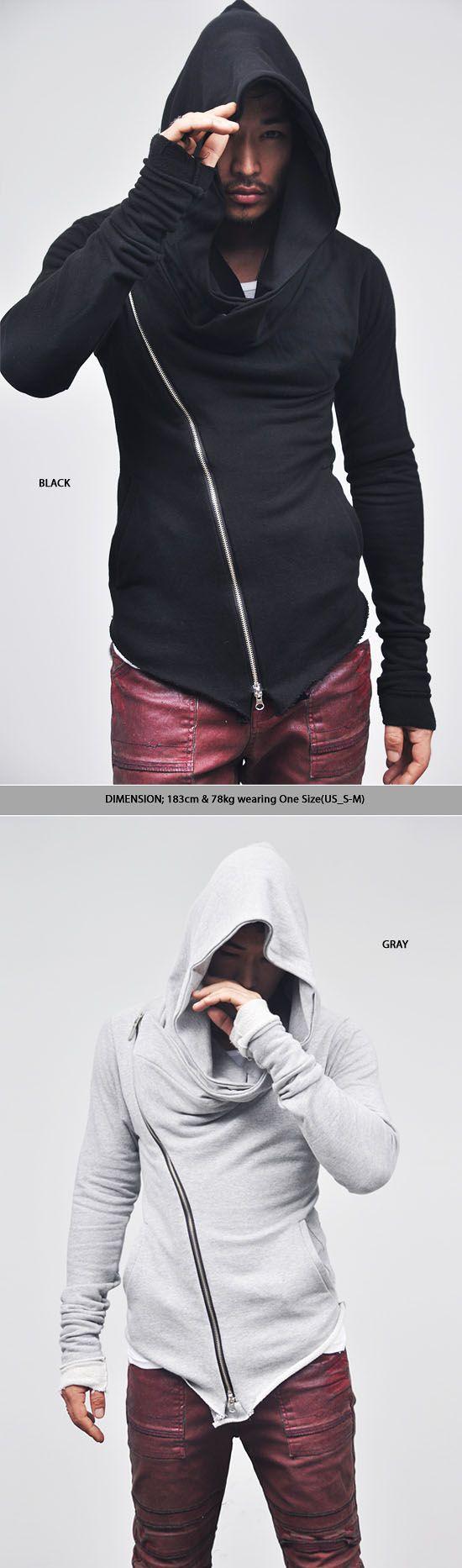 Tops :: Hoodies :: Re) Diabolic Dark Edge Turtle Zipup-Hoodie 21 - Mens Fashion Clothing For An Attractive Guy Look
