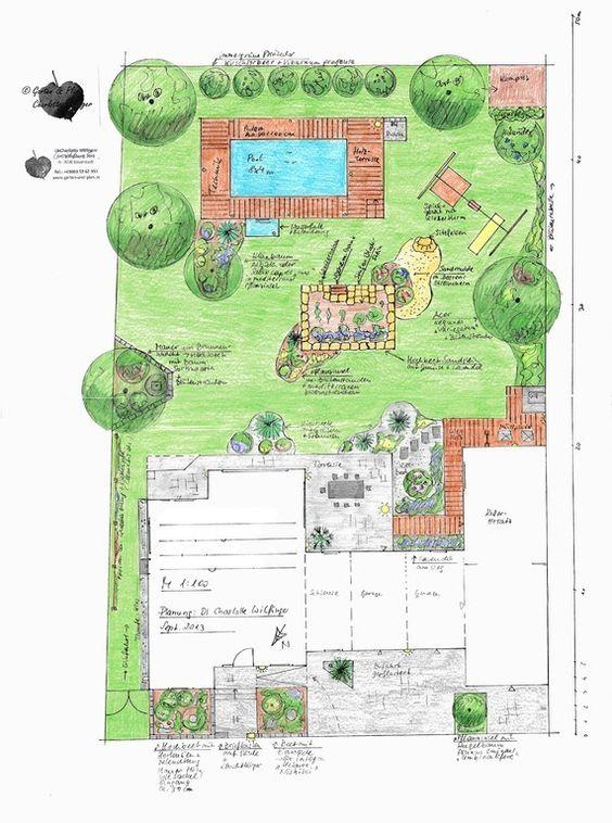 gartenplanung beispiele - google-suche | garden | pinterest | suche, Garten Ideen