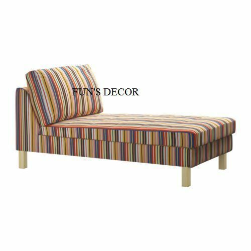 New Ikea Karlstad Free Standing Chaise Lounge Cover Slipcover Dillne Multicolor Ikea Sofa Ideas Of Ikea Sofa Sofa Ikea Ike Ikea Sofa Ikea Karlstad Ikea