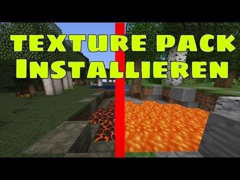 Wie Installiert Man Ein Texture Pack Minecraft 1 13 1 Tutorial 001 Texture Packs Texture Minecraft