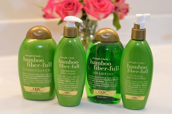 A Blonde's Moment: fuller hair with OGX
