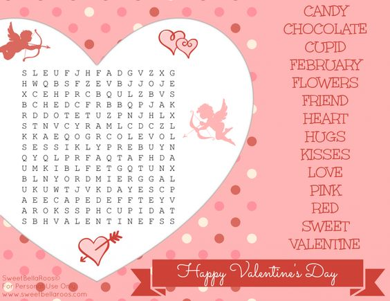 free valentines day word search printable sweet bella roos valentine words word search and free printable